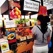 Кулинарный фестиваль в Сингапуре
