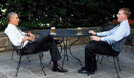 Барак Обама варит в Белом доме собственное пиво.