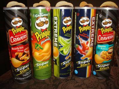Pringles серия Xtreme