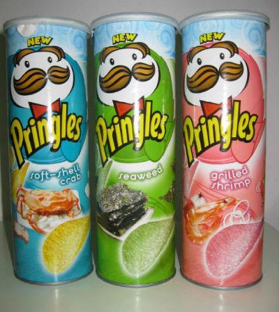 Pringles soft-shell crab