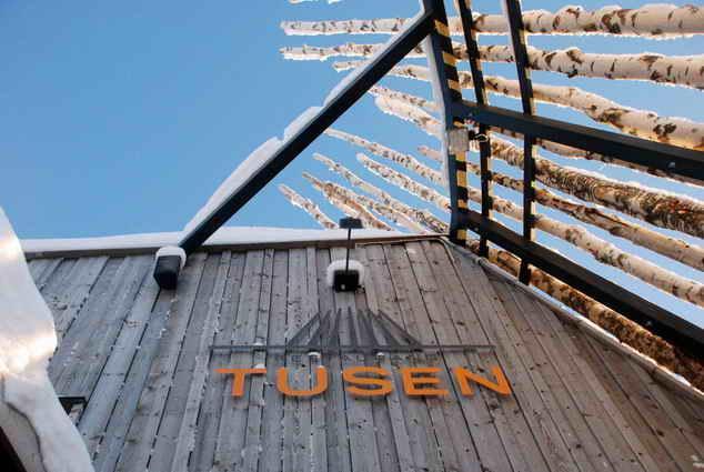 Необычные рестораны: Tusen. Швеция.