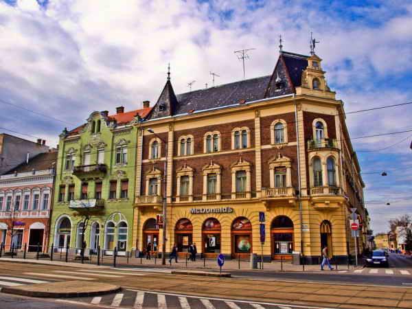 McDonalds в Дебрецене, Венгрия.