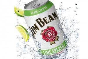 Jim Beam Lime Splash