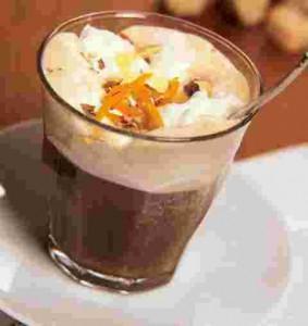 first iced chocolate dessert