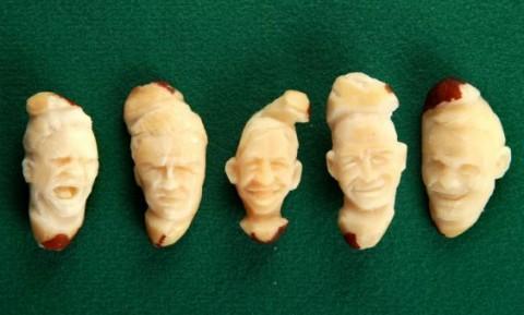 Квентин Девайн, Англия, лица английских футболистов на бразильских орехах